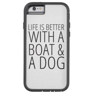 La vida es mejor con una caja del teléfono del funda tough xtreme iPhone 6
