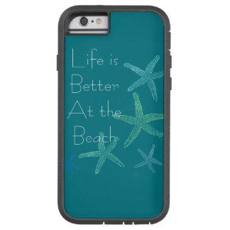 La vida es mejor en la playa funda tough xtreme iPhone 6