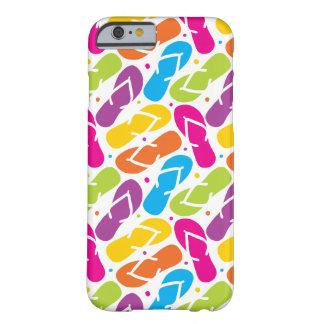 La vida es mejor en modelo de los flips-flopes funda barely there iPhone 6