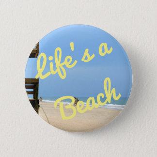 La vida es un botón de la playa