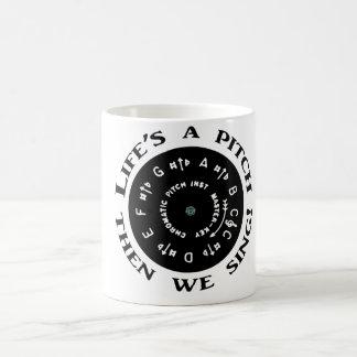 La vida es una echada taza de café
