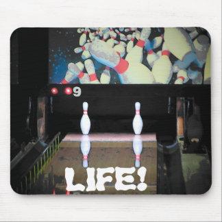 La vida es una mala fractura alfombrilla de ratón