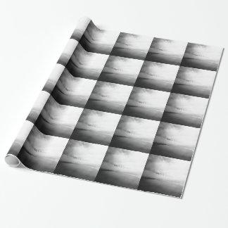La vida es una playa - foto tipográfica blanco y papel de regalo