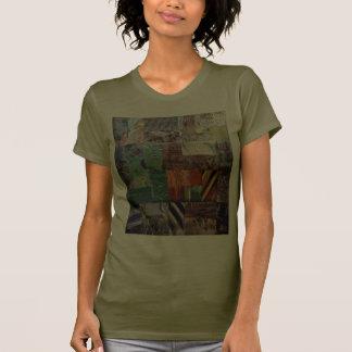 La vieja gama del remiendo de la granja camisetas