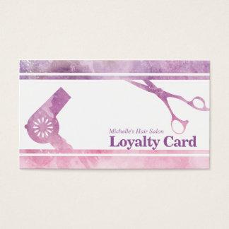 La violeta moderna compone la tarjeta de la
