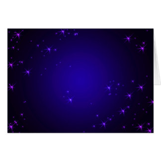 La violeta protagoniza (el paisaje) tarjeta de felicitación