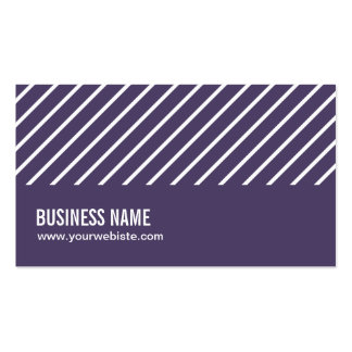 La violeta raya la tarjeta de visita del contratis