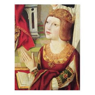 La Virgen de los reyes católicos 2 Postal