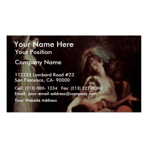 La virtud está recordando la juventud (de los braz plantilla de tarjeta de visita