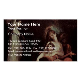 La virtud está recordando la juventud (de los braz tarjetas de visita
