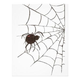 La viuda negra folleto 21,6 x 28 cm