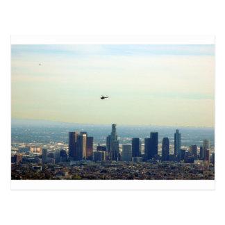 LA y helicóptero Postal
