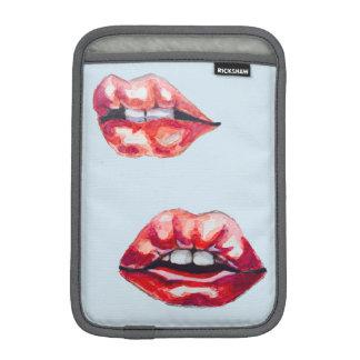 labios de los labios funda para iPad mini