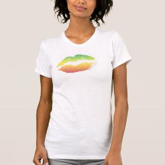 Labios de Rasta de la ropa de KYC Camisetas