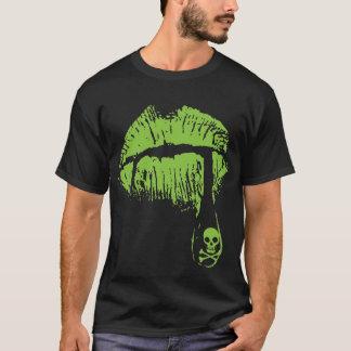 Labios del veneno camiseta