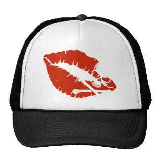 labios del veneno gorras