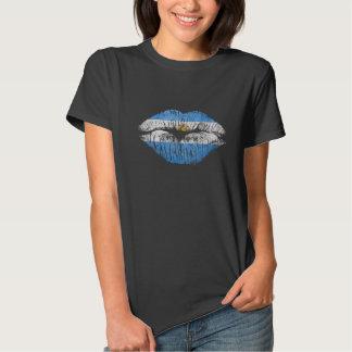 labios la Argentina Camisetas