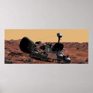 Laboratorio de ciencia de Marte Póster
