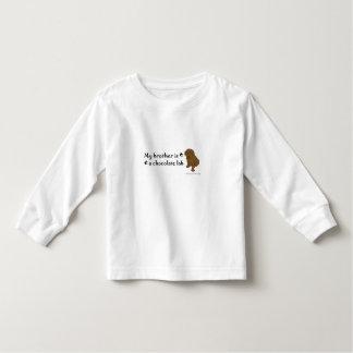 laboratorio del chocolate camiseta de bebé