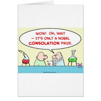 laboratorio premiado de los científicos de la cons tarjeta de felicitación