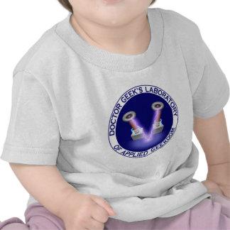 Laboratory Logo del doctor Geek s Camisetas