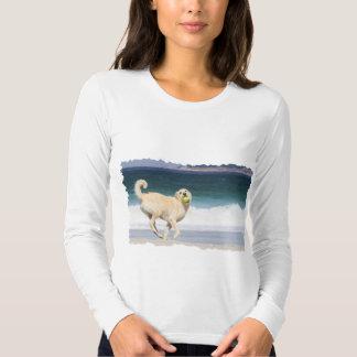 Labradoodle - Marilyn Monroe de la playa Camisas