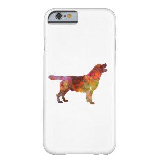 Labrador retriever 01 in watercolor 2 funda barely there iPhone 6