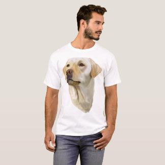 Labrador retriever amarillo camiseta