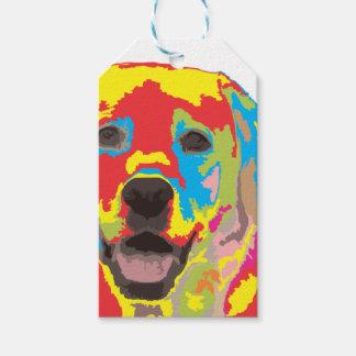 Labrador retriever etiquetas para regalos
