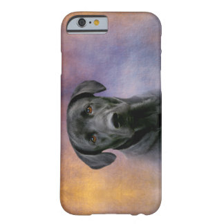 Labrador retriever negro hermoso funda barely there iPhone 6