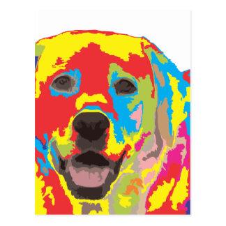 Labrador retriever postal