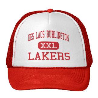 Lacas Burlington - Lakers del DES - altos - lacas Gorra