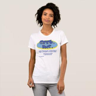 Ladies' camiseta cómica del jersey de Geek, Inc.