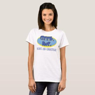 Ladies' camiseta de la tienda de Geek, Inc.