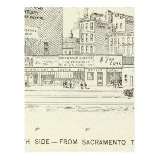 Lado norte del mercado, de Sacramento y de Califor Postal