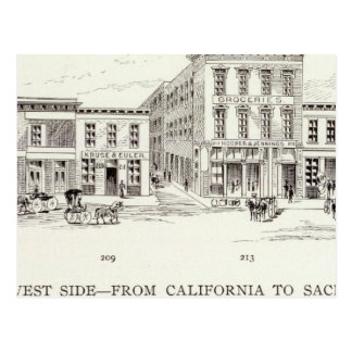 Lado oeste delantero California y Sacramento Postal