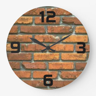 Ladrillo Reloj-redondo Reloj Redondo Grande