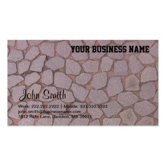 Ladrillo/tarjeta de visita de piedra de construcci tarjetas de visita