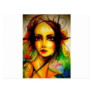 Lady Butterfly.jpg Postal