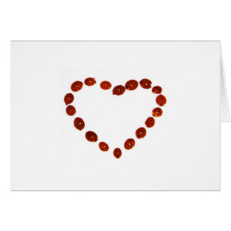 ladybugsheart tarjeta de felicitación