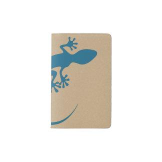 Lagarto azul, geko - Faraglioni, Capri, Italia Cuaderno De Bolsillo Moleskine