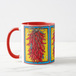 Lagarto rojo colorido de la taza del sudoeste de