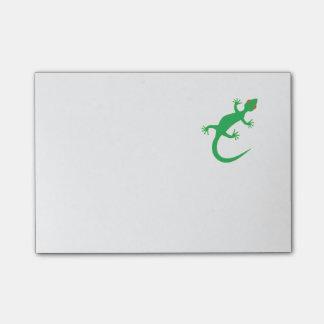 Lagarto verde claro notas post-it®