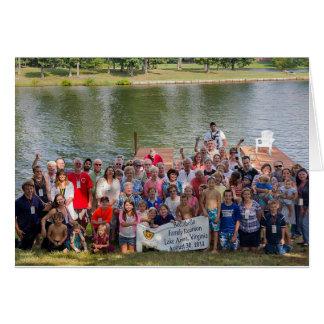 Lago Ana 2014 reunion de Boccabella Tarjeta Pequeña