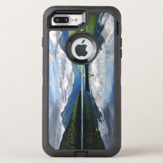 Lago bowman - Parque Nacional Glacier Montana Funda OtterBox Defender Para iPhone 7 Plus