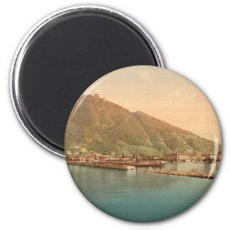Lago Como, el puerto Imanes De Nevera