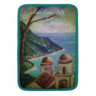 Lago Como Italia manga de aire de Mackbook Fundas Macbook Air