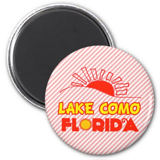 Lago Como, la Florida Imán De Frigorifico