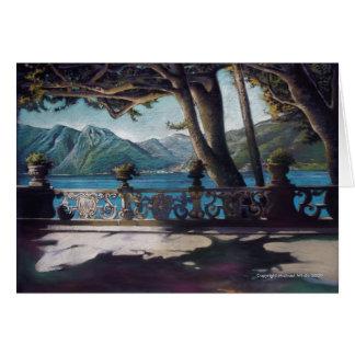 Lago Como Tarjetón