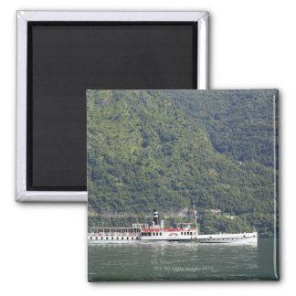 Lago Como, transbordador Imán Cuadrado